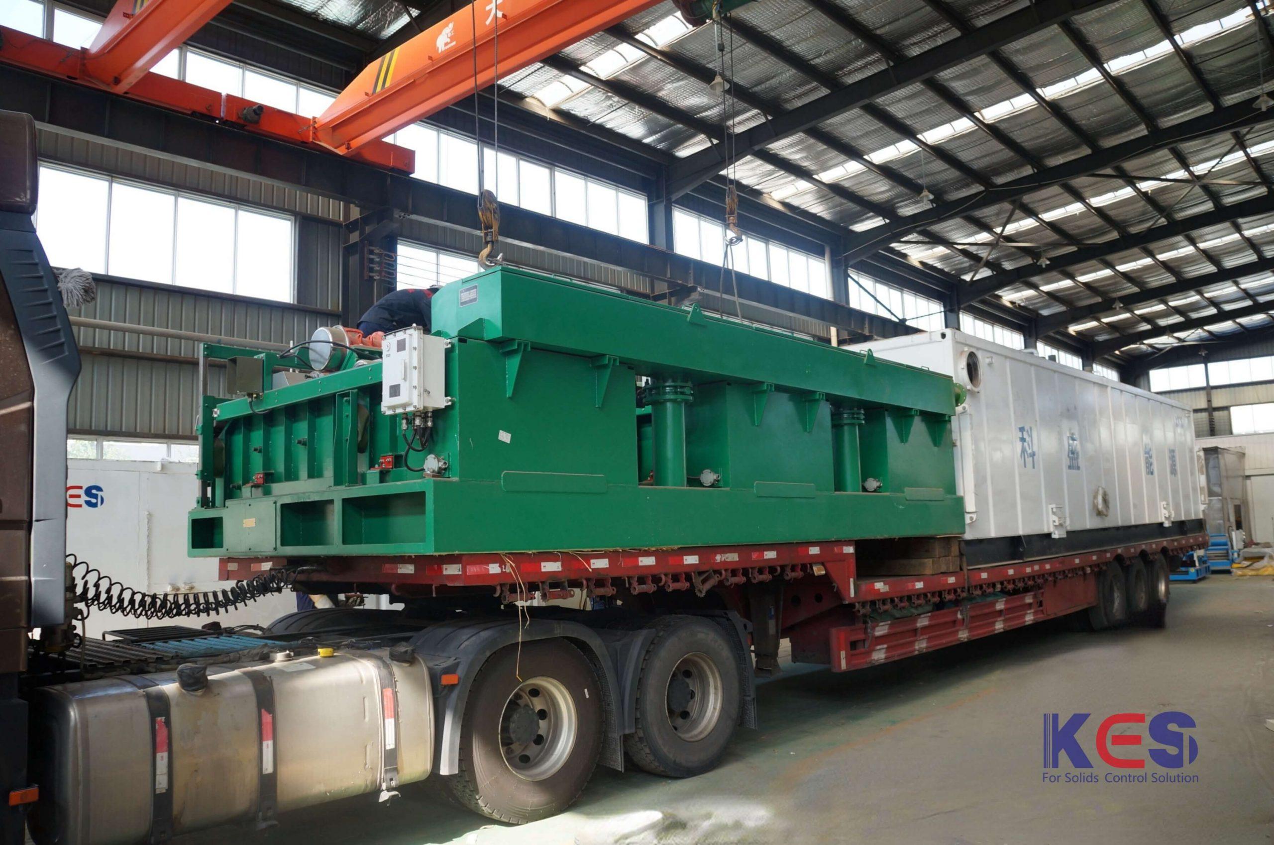 科盛能源ZJ70钻井泥浆固控系统发货